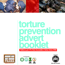 Torture Prevention Advert Booklet