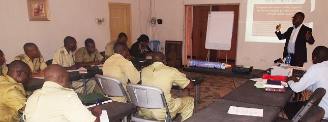 Nigeria Prisons Service (Enugu Command)  Enhancing Transportation of Prisoners to Court Interactive Workshop